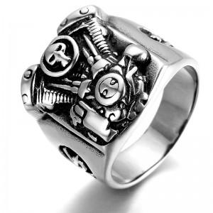 """Vintažinis baikeriškas žiedas """"RI079"""""""