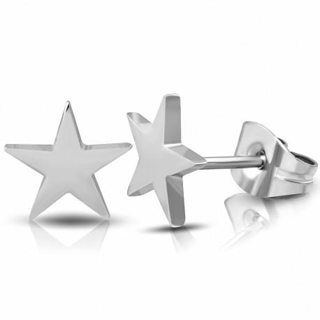 """Vyriški žvaigždės formos auskarai """"AU121"""""""