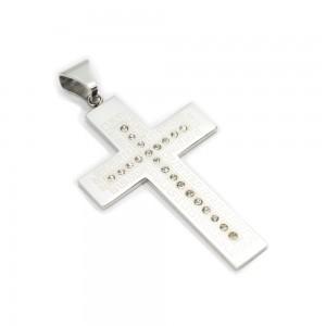 """Kryžiaus formos pakabuko ir grandinėlės komplektas """"PA079"""""""