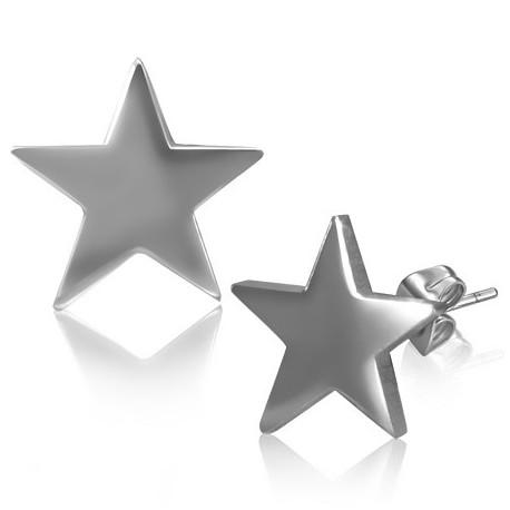 """Žvaigždės formos vyriški auskarai """"AU107"""""""