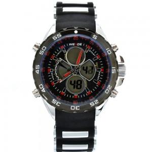 """Masyvus, juodos spalvos vyriškas laikrodis """"CL077"""""""