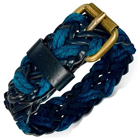 "Stilinga mėlynos spalvos apyrankė vyrams ""OA504"""