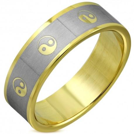 """Paauksuotas vyriškas žiedas """"RI098"""""""