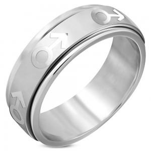 """Vyriškas žiedas """"RI084"""""""