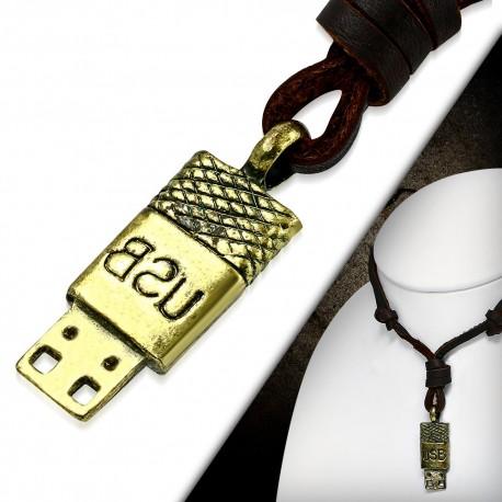 """Vyriška grandinėlė - USB """"GR161"""""""