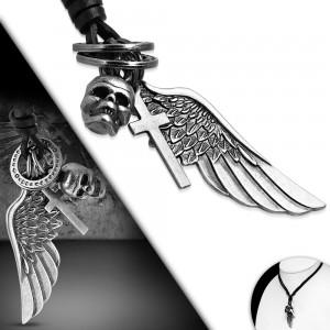 Vyriška grandinėlė sparnai